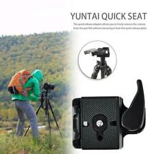 Universal Camera Tripod Quick Release QR Plate Mount Clamp Adapter Stabilizer