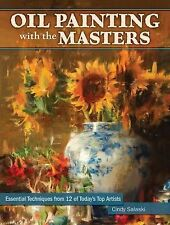 OIL PAINTING WITH THE MASTERS - CINDY SALASKI (HARDCOVER) NEW