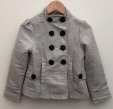 Girls M&S Stone Jacket 5-6 <D2685