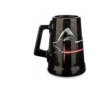 New Disney Store Kylo Ren Star Wars Black Ceramic Coffee Mug