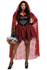 Dreamgirl Plus size adult Red Riding hood gothic dress costume set 11943X 2X