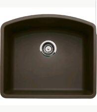 Blanco 440172 Diamond Silgranit II Single-Bowl Undermount Sink (Cafe Brown)