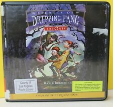 THE ONTS, SECRET OF DRIPPING FANG -Dan Greenburg - UNABRIDGED CD ~ FREE SHIPping