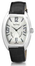 Paul Picot Firshire Automatic 2000 Steel Calendar Mens Luxury Strap Watch 4097