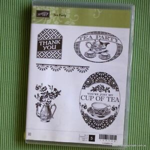 Tea Party  (Clear Mount) Stampin Up
