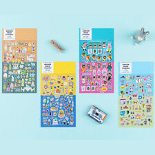Ardium Deco Stickers 4 Type for Planner Diary Calendar Scrapbooking Cute Decor