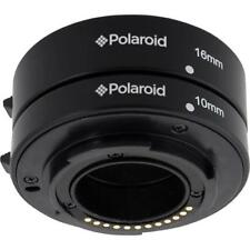 Polaroid Auto Focus DG Macro Extension Tube Set (10mm, 16mm) For Nikon 1 Digital