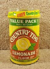 Country Time Lemonade Drink Mix 31 Oz Canister Race Car 1:64 Bobby Hamilton #68
