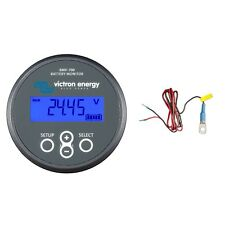 Victron BMV-702 Battery Monitor (Gray Bezel) Bundle with Meter & Temperature ...