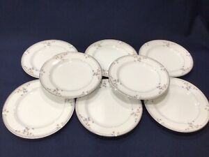 "Set of 8 Princess House HERITAGE BLOSSOM Salad Plates 7.5"""