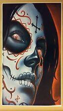 "Day of the Dead GIANT WIDE 24"" x 42"" Poster Evil art devil hell horror Halloween"