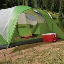 4 Person Tent Green Waterproof Picnic Family Tents NEW Outdoor Camping Hiking