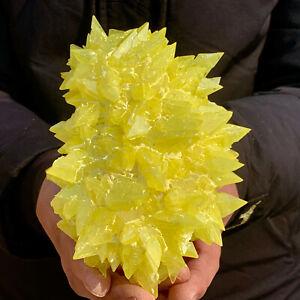 584G Minerals ** LARGE NATIVE SULPHUR OnMATRIX FREE healing