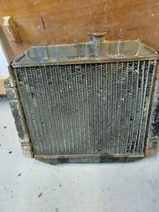 FORD CORTINA MK3,4,5 OHC MODEL RADIATOR (bent angle outlets)