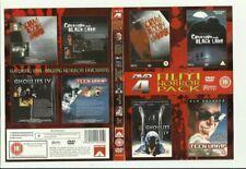 SCREAM BLOODY MURDER+CREATURE FROM BLACK LAKE+GHOULIES IV+TEEN VAMP - 4 HORRORS