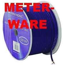 Mikrofonkabel Meterware BLAU BLU 2 x 0,22 qmm Studiomikrofonkabel Mikrokabel NEU