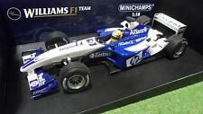 F1 WILLIAMS BMW FW25 2003 Schumacher 1/18 Minichamps 100030004 voiture miniature