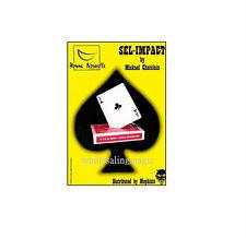 Sel-Impact SPADE To CLUB Card Change Street Close Up Card Magic Trick T11 Gaff