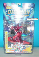 DIGIMON Growlmon DIGIVOLVING FIGURE NEW Special Red COL
