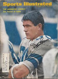 Dallas Cowboys DAN REEVES Signed Sports Illustrated