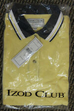 NIP Ladies Izod Club Yellow Polo Shirt Sm Golf Golfing Tennis Cotton Womens  o