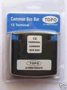Battery DC Power Common Terminal bus bar, solar,Caravan,4WD,DIY