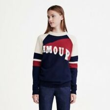 Tommy Hilfiger Women's AMOUR  jumper sweater   blue/cream/red M