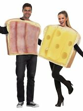 Adult Couples Ham & Swiss Cheese Costumes Funny Humorous Sandwich Food Costume