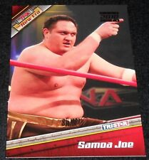 TNA  - THE NEW ERA - SAMOA JOE - SILVER PARALLEL #19/30