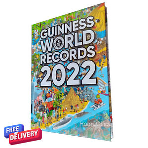Guinness Book of World Records 2022 Annual Hardbacked Guiness Book RRP £20