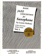 Lennie Niehaus Basic Jazz Conception 2 for Saxophone Noten mit CD