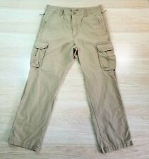 LL Bean Mens Cargo Pants Natural Fit Khaki size 35x32 Tactical Military Grade