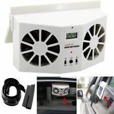 Car Air Conditioner Mini Air Ventilator Cool Fan Solar Powered Car Accessories