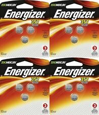 4 x 3 Packs Energizer Silver Oxide 357/303 12 Batteries
