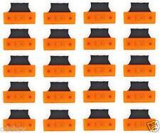 10/x 24/V 4/LED Orange c/ôt/é Outline Marker lumi/ères Lampes Camion benne Camion caravane remorque Ch/âssis Horsebox