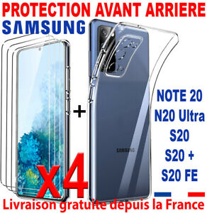 COQUE PROTECTION FOR SAMSUNG GALAXY NOTE 20 4G 5G ULTRA PLUS VERRE TREMPE GLASS