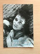 Autogrammkarte - SYLVIA BOSSERT - SCHAUSPIELERIN - orig. signiert #454