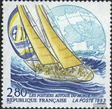 France 2977 (complete issue) unmounted mint / never hinged 1993 sailing yacht