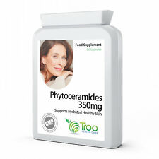 Phytoceramides 350mg 60 Capsules - Supplement for Healthy Hair, Skin and Nails