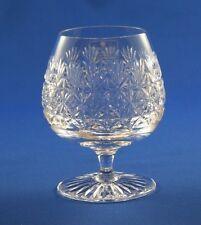 TUDOR CRYSTAL - JEWEL / WELLINGTON DESIGN - LARGE BRANDY GLASS  11.5cm