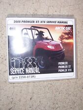 2008 Arctic Cat ATV Prowler + XT + XTX  Service Manual CD Factory Original  T