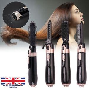 4 in 1 Hair Blow Dryer Brush Comb Hot Air Styler Tool Straightener Hair Dryer UK