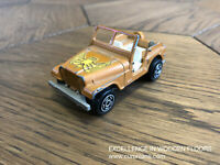 Majorette Jeep No 268 Golden Eagle 1/54 France DieCast Scale Model