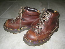 Doc Dr. Martens Brown Size 3 Worn In Pre owned Boots; Broken In; Comfy England