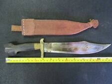 Philippines Trench Art Bowie Knife ?
