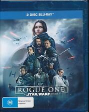 Rogue One A Star Wars Story Blu-ray NEW 2-disc Special Features
