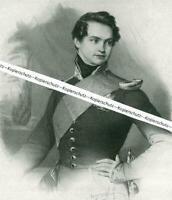 Otto - König von Griechenland - 1832 - Nach einem Gemälde - um 1930    W 25-7