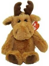"""Ty Attic Treasures Collection Archibald Moose 13"""" Stuffed Plush Toy"""