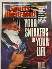 Sports Illustrated May 14, 1990 - Your Sneakers or Your Life cover