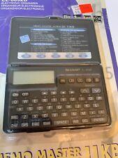 NIP SHARP EL-6092B Sealed Electronic Organizer 11KB NOS